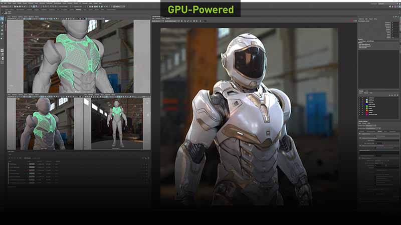 GPU-rendering